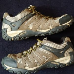 Merrell Shoes - MERRELL BOULDER Trail Hiking sneaker size 11